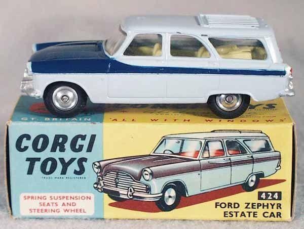 Corgi Ford Zephyr Estate Google Search Modelauto