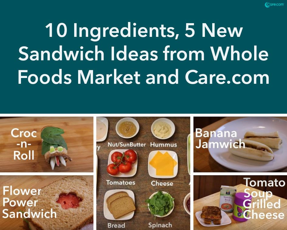 10 ingredients 5 new sandwich ideas from whole foods