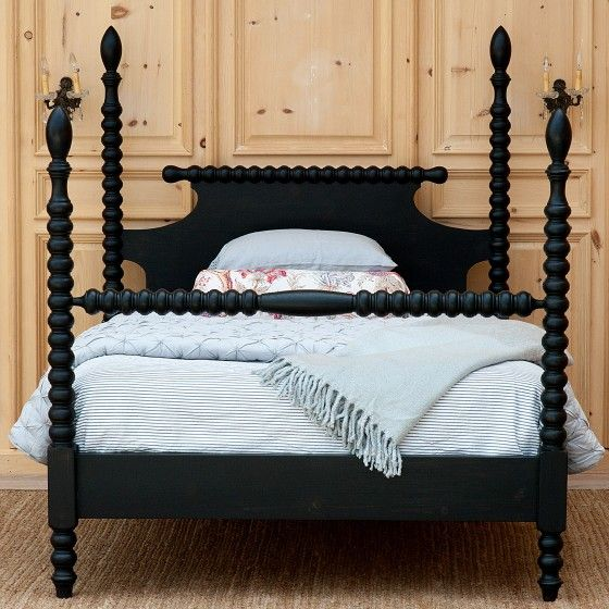 Gwendoline Spindle Bed Spindle Bed Spool Bed Twin Bed Frame
