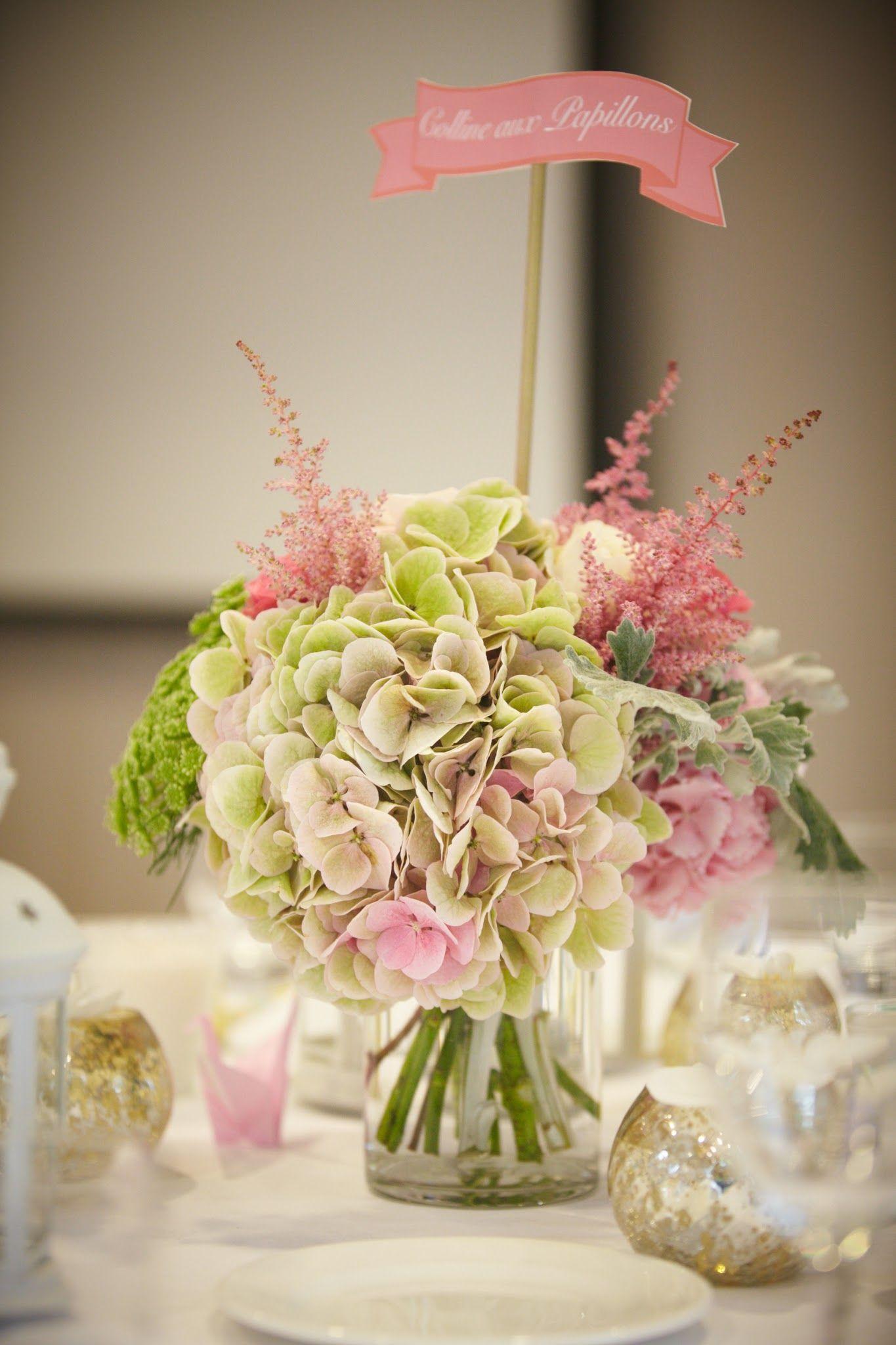 Contactez Moi Fleurs Déco Mariage Hortensia Deco Table