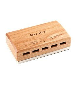 Amazon.com: Wood-Aluminum iPhone Desktop Charger, Truffol X ORICO Station 5 5-Port 36W USB Charger, 2X Quick Charge 2.4A & 3X Universal 1.0A (Cherry Wood): Cell Phones & Accessories