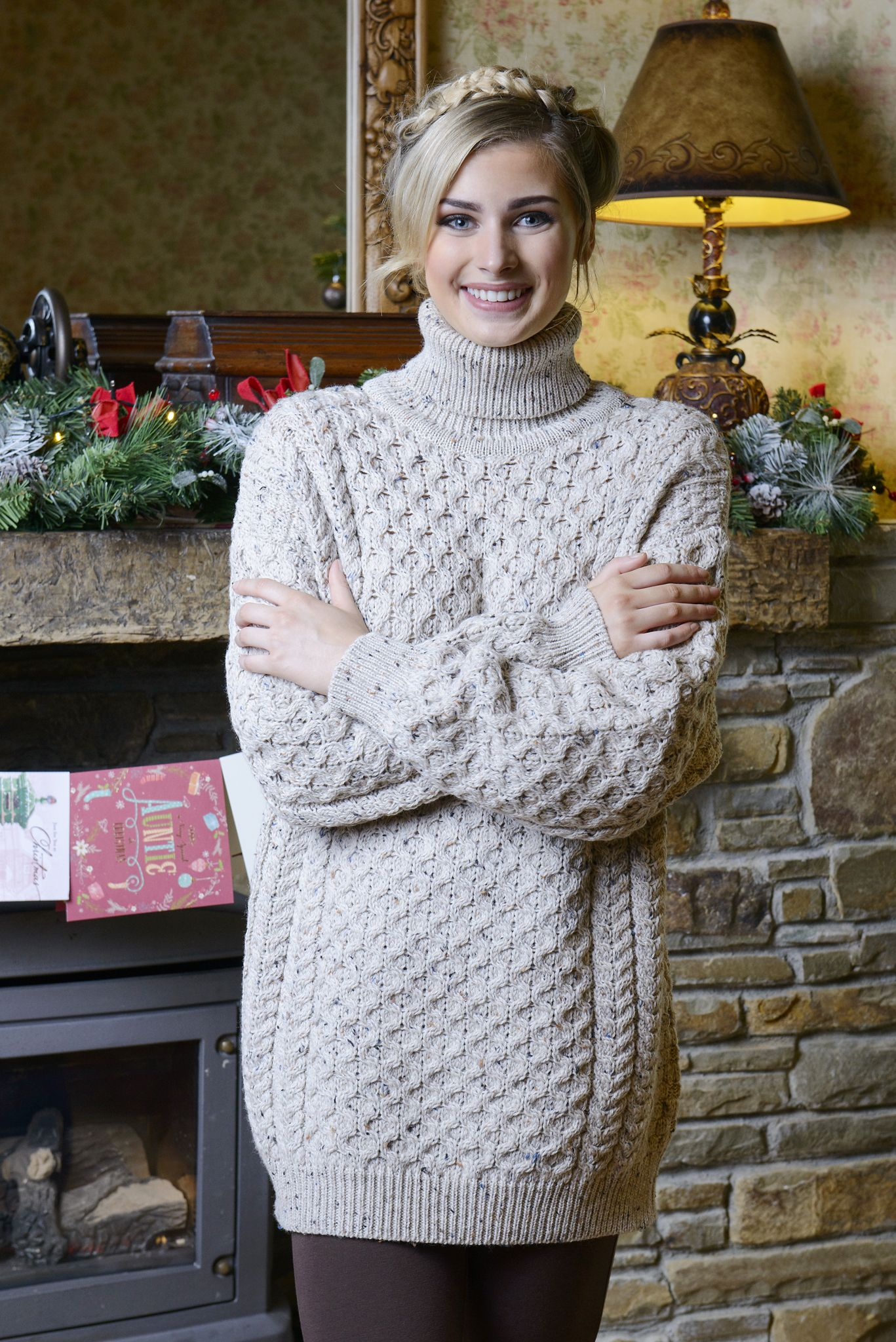 381453356b Honeycomb Turtleneck Sweater This merino wool honeycomb sweater is a  practical yet stylish sweater, suitable for all year-round. Its Fisherman  style allows ...