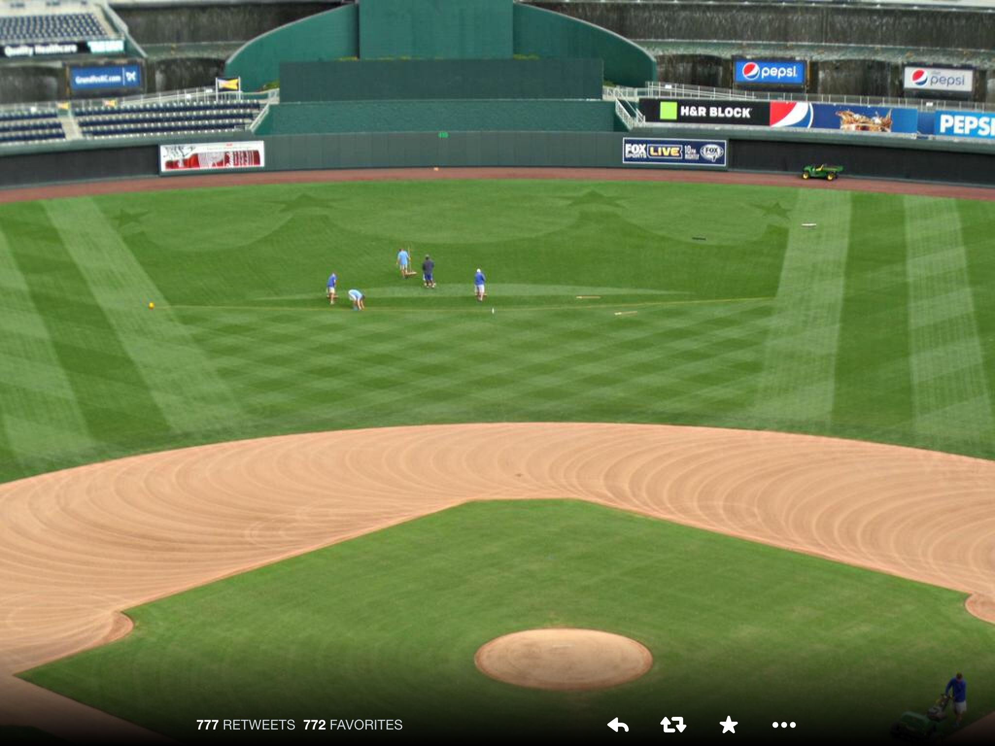 Alcs At The K Kansas City Royals Kansas City The Outfield