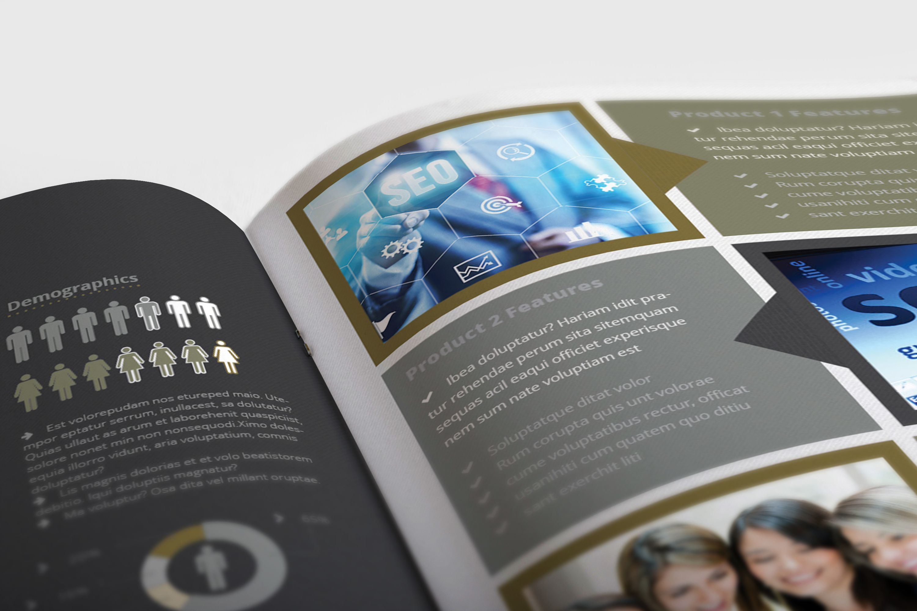 Annual Report Template For Indesign Cs Or Later  Design Haven