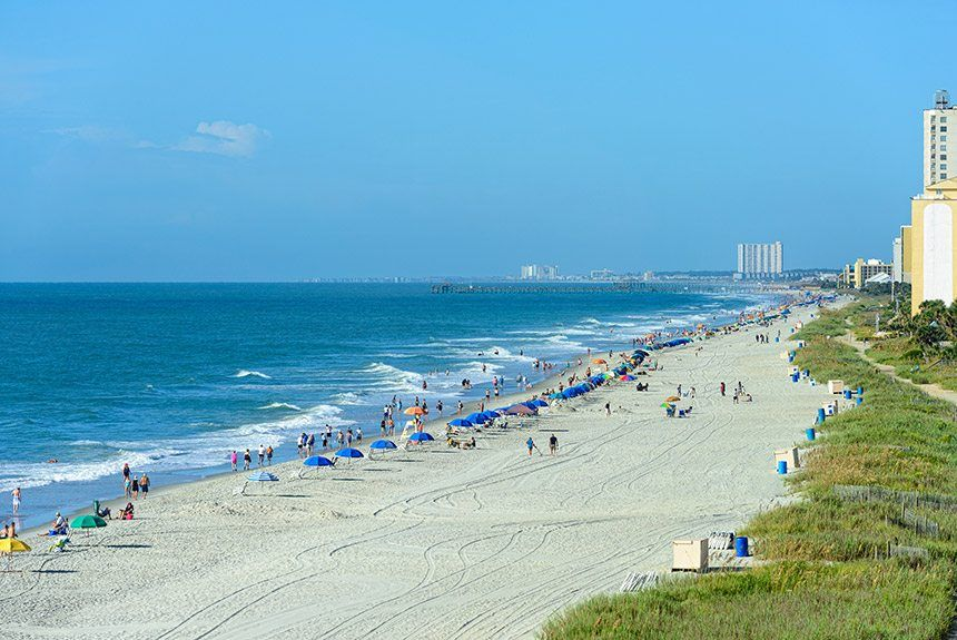 Myrtle Beach Vacation Package: 4-days/ 3-nights From Only $99