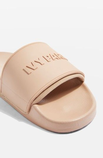 571ac5458b7f Ivy Park. Thinking slides like this would be cute for spring and summer