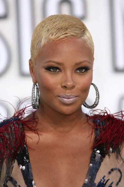Model Actress Eva Short Haircuts For Black Women With Thin Hair Going N Hairstyles 2011