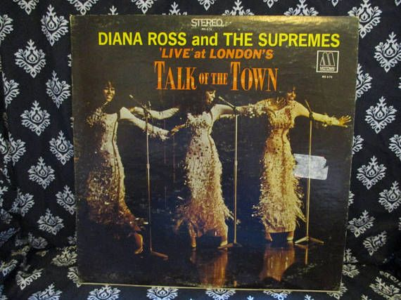 Diana Ross and the Supremes Live at London's Talk of the
