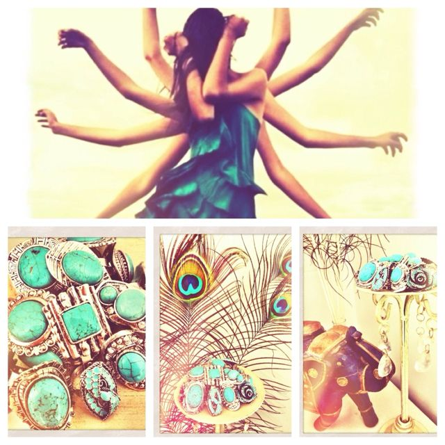 Sunday Market turquoise collection <3