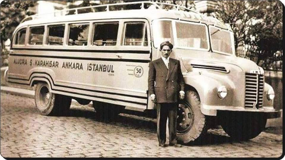 1950 ler,şehirler arası otobüs. | Otobüs, Araba, Klasik arabalar