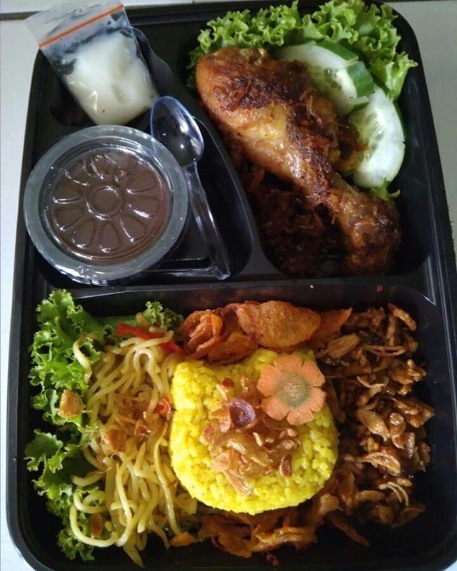 Nasi Box Png : Bento