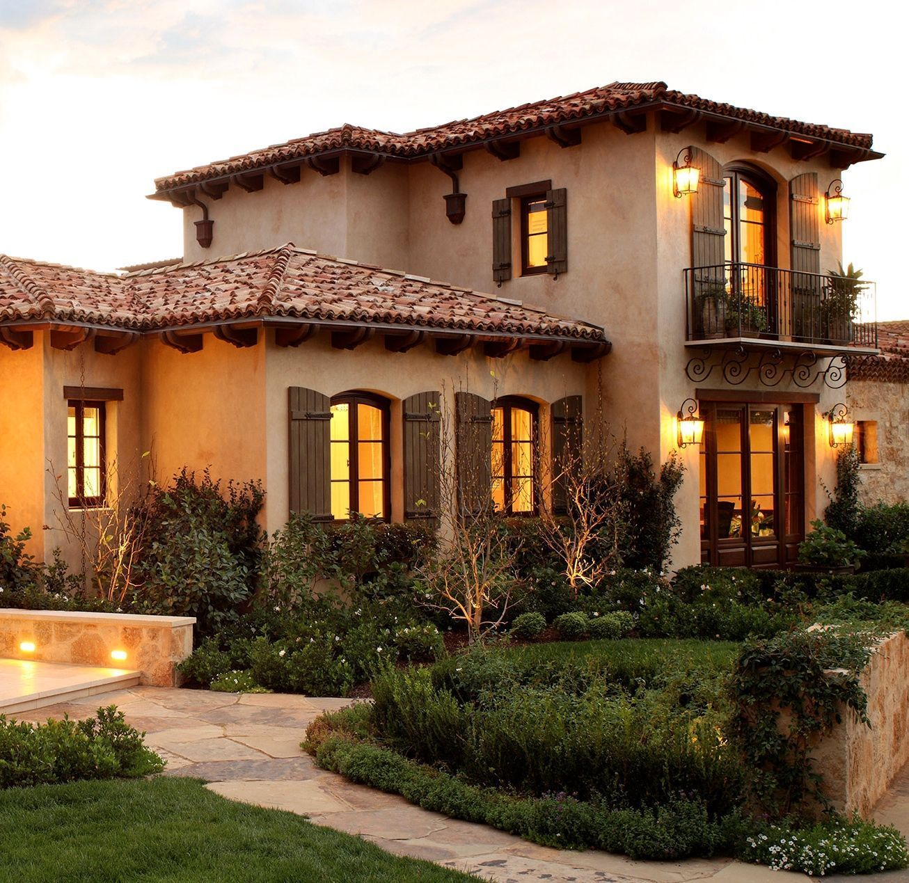 Tuscan Diy Must Do Ideas Mini Balcony High Ceilings Rustic Paint Walls Taupes Wood T Spanish Style Homes Mediterranean Style Homes Mediterranean Homes