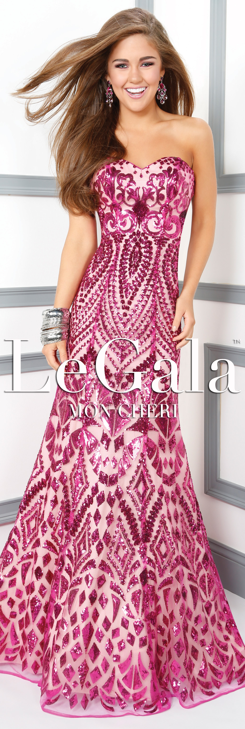 Spring 2016 Prom Dress by Le Gala by Mon Cheri style 116531 ...