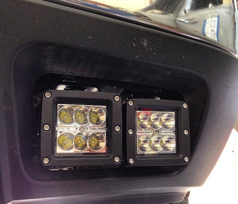 99 08 Chevrolet Led Pod Fog Lamp Brackets Etsy Fog Lamps Chevrolet Led