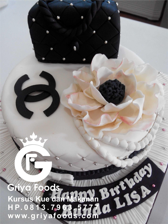 Berbagai Bentuk Kue Ulang Tahun Dengan Hiasan Fondant Kue Kursus Kue Kue Fondant