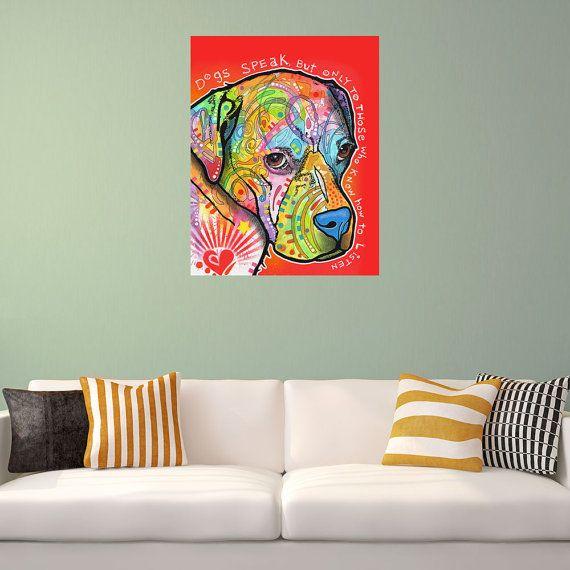Boxer+Pop+Art+Wall+Decal++Dogs+Speak+by+Dean+by+MyWallStickers ...