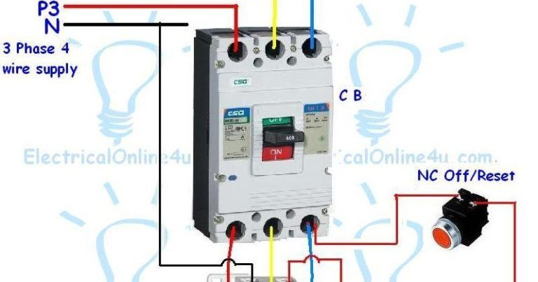 magnetic contactor wiring diagram 4  electrical circuit