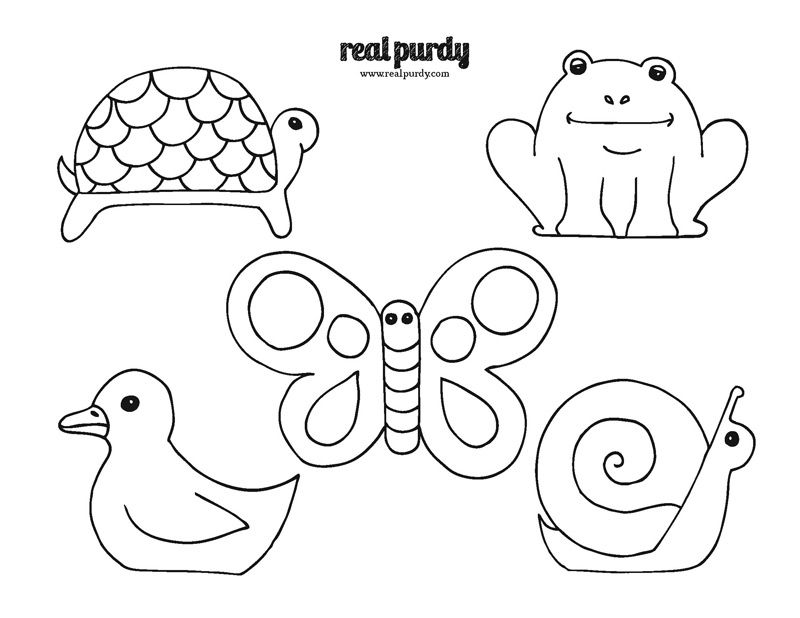 Popsicle Stick Puppets Easy Drawings Printable Coloring Pages Drawings