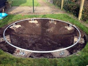 trampoline ingraven garten pinterest sichtschutz und g rten. Black Bedroom Furniture Sets. Home Design Ideas