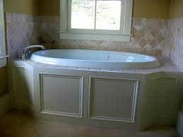 Tile And Trim Detail On Garden Tub Tub Remodel Garden Tub Small Bathroom Remodel Cost
