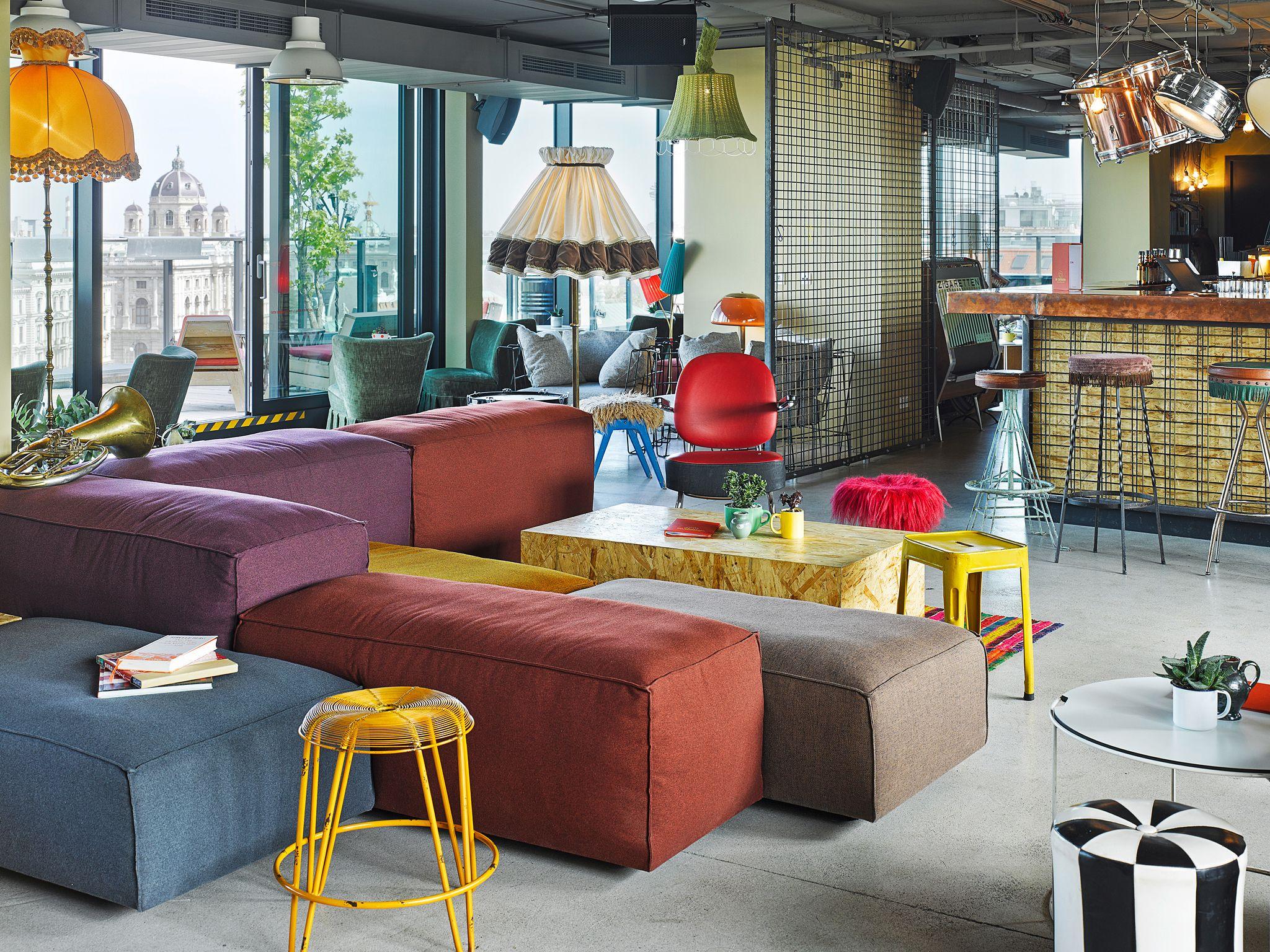 Die 21 besten Ideen zu der Dachboden im 21hours Hotel Wien   Beim ...