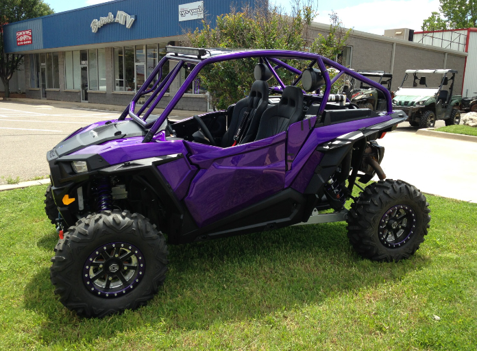 Custom fiberglass doors for Polaris® RZR by Lavey Craft