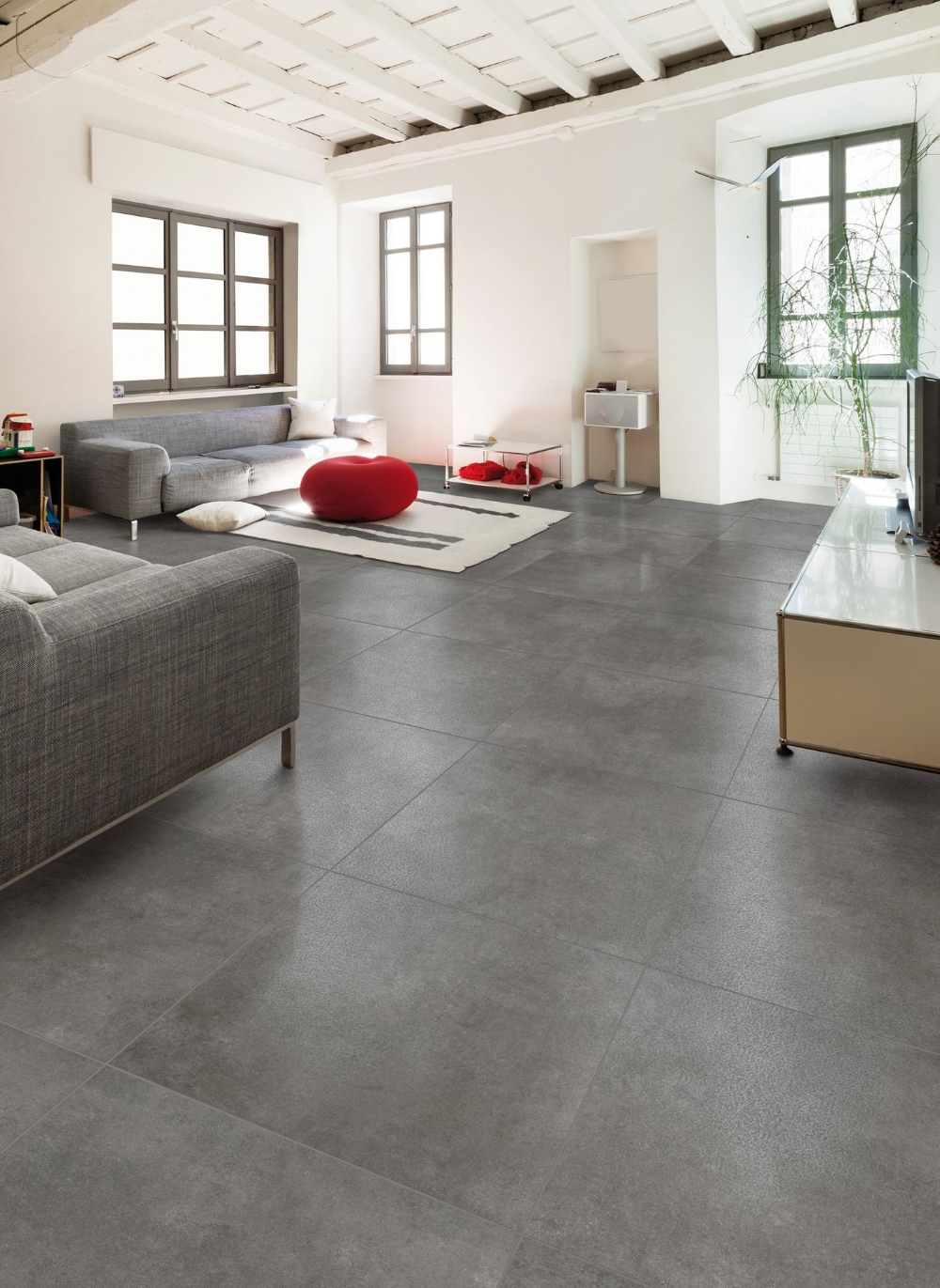 Brooklyn Dark Grey 307 X 615mm Wall Floor Tile Grey Tiles Living Room Grey Floor Tiles Living Room Living Room Tiles