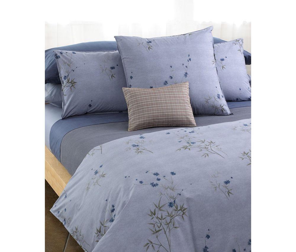 Calvin Klein Home Bamboo Flowers Full Queen Comforter Bedding