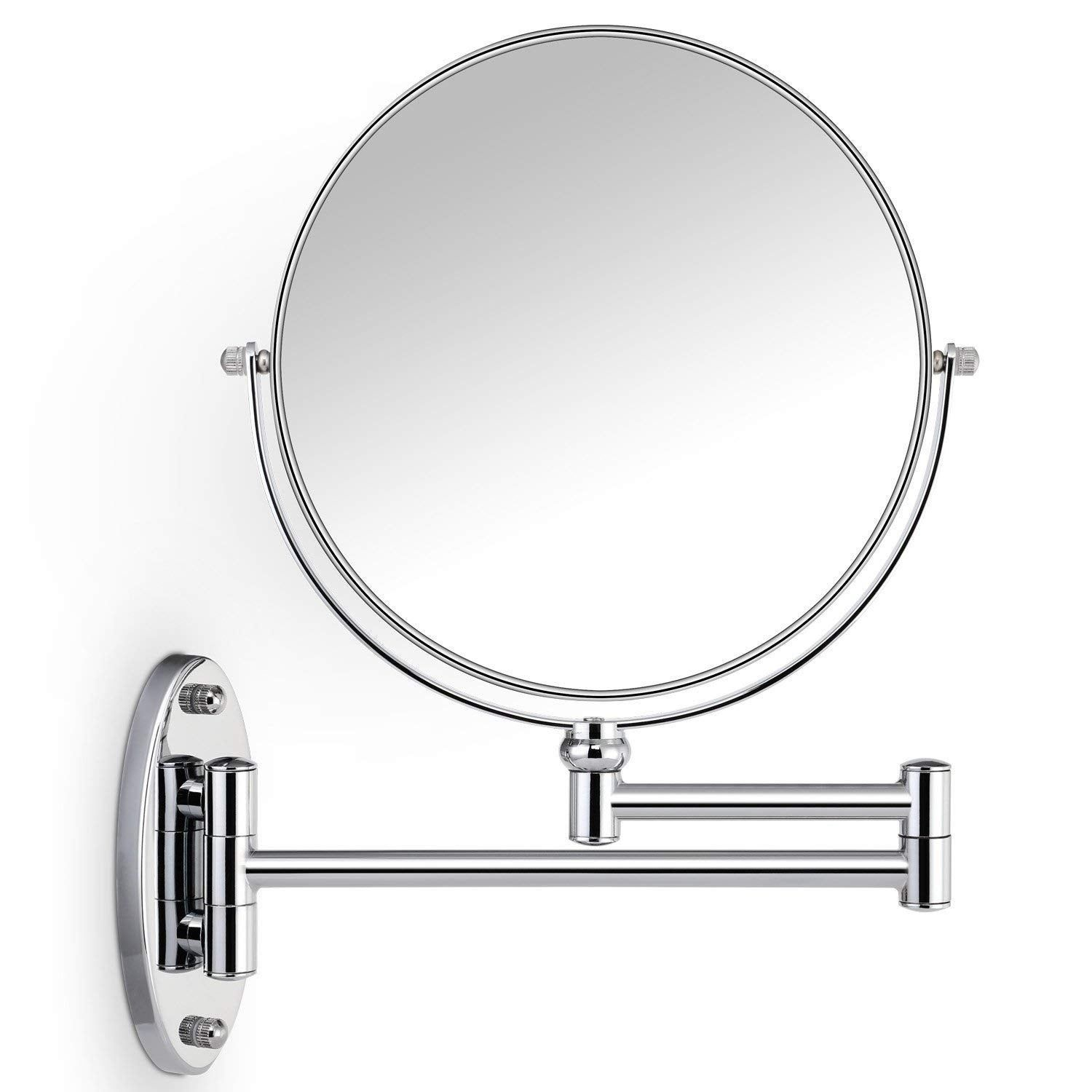 10x Magnifying Two Sided Wall Mount Makeup Mirror Wall Mounted Makeup Mirror Mirror Magnifying Mirror
