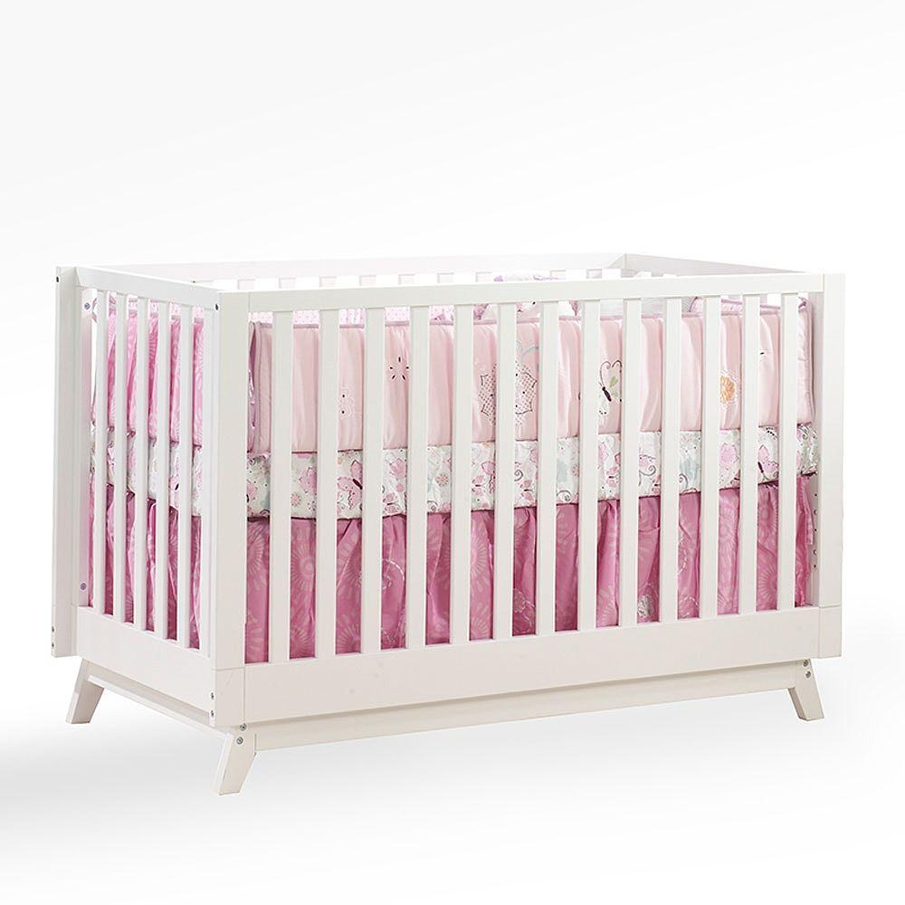 Kidiway Fresh 4 In 1 Convertible Crib White Kidiway Babies R