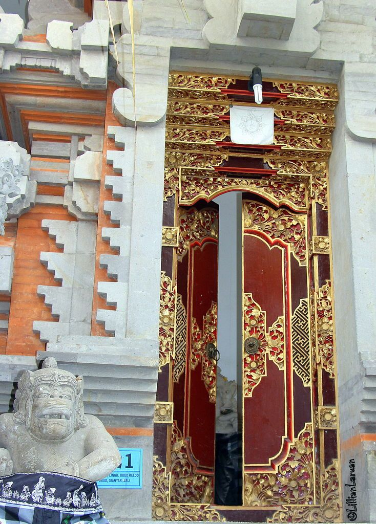 My #Bali #Photos a #Balinese #door shows the architecture of this #Hindu land. a #LillianMarie #original #tsu #tsunami #tsunation #travel #addict