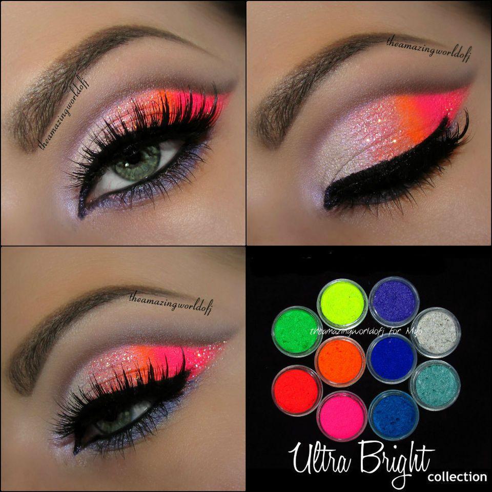10 MYO Ultra Bright Eyeshadow Pigment Mica Cosmetic