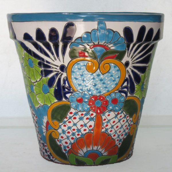Ceramic Flower Pot 30cm - Multi D