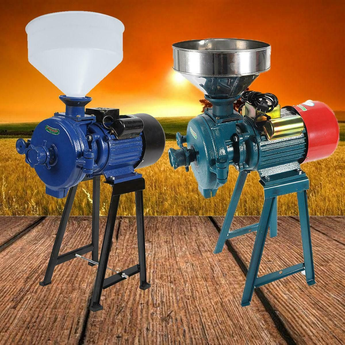 Details about Electric Mill Wet Dry Grinder Machine For