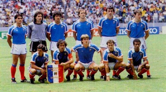 Annees 80 80 39 s eighties foot coupe du monde mondial football jean pierre papin platini - Coupe du monde mexique 1986 ...