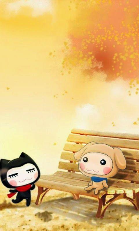Cute Anime Andrews Phone Hd Wallpapers 5 480x800 Cute Mobile Wallpapers Love Animation Wallpaper Cute Wallpapers