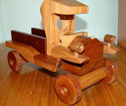 Norm Marshall Style Aussie Model T Ford Ute Wooden Toys Wood