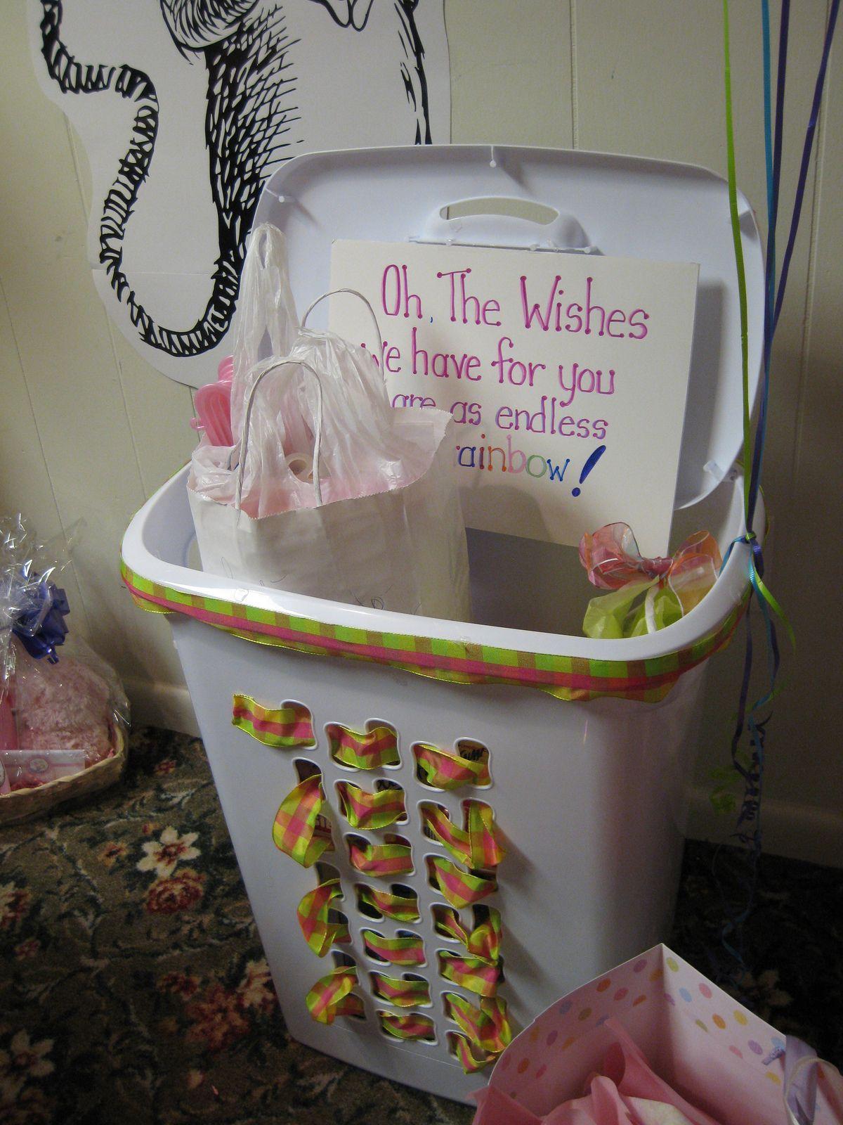 Baby Shower Wishing Well