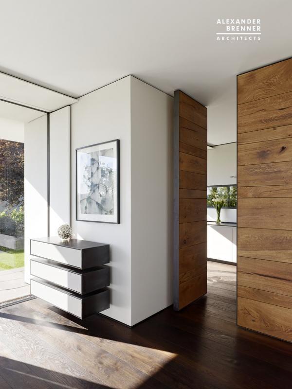 Innenarchitektur Brenner projekt vista house brenner architekten innentüren