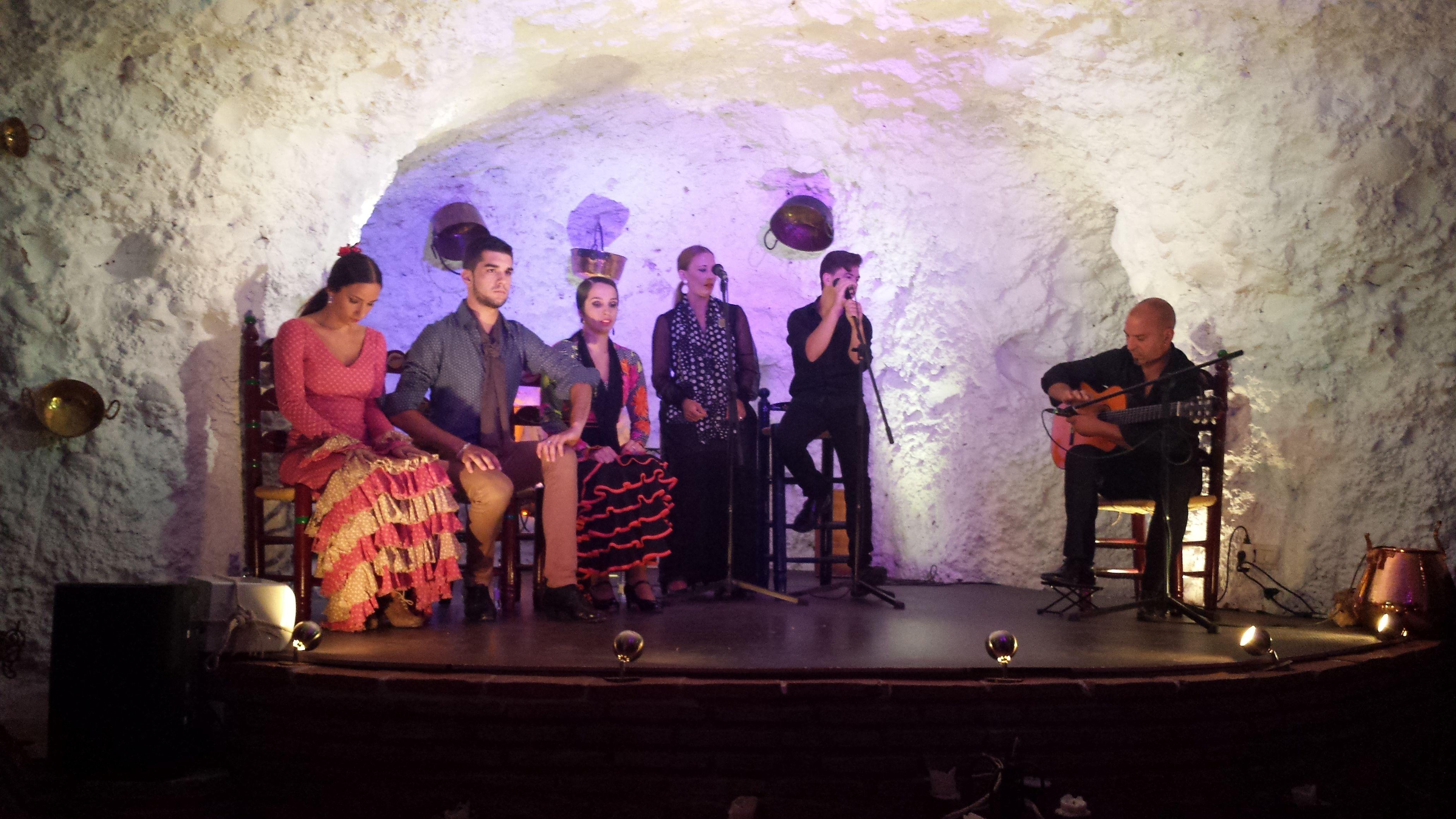 Flamenco en el #Albaicín, #Granada.