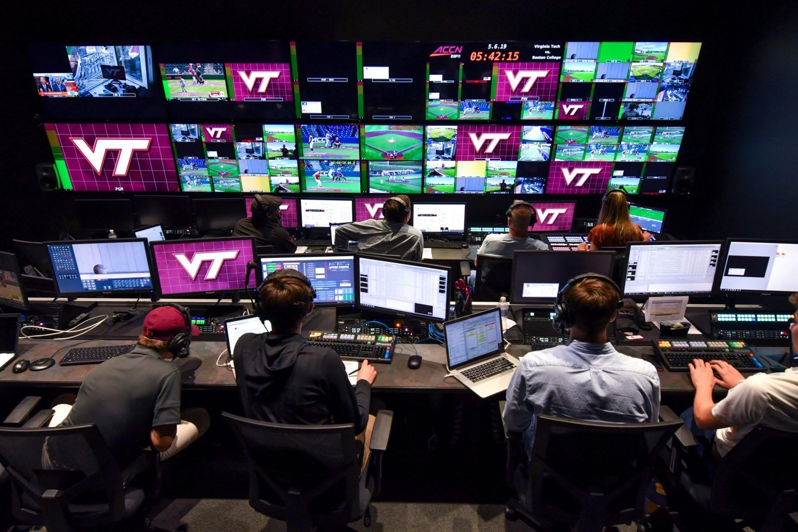 ACC Network to feature Hokies on screen and behind the