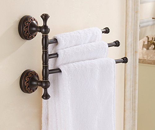 Oulantron Oil Rubbed Bronze Active 3 Towel Bars Wall Mounted Towel Rack For More Information Visit Towel Rack Wall Mounted Towel Rack Bathroom Towel Decor Oil rubbed bronze towel bars