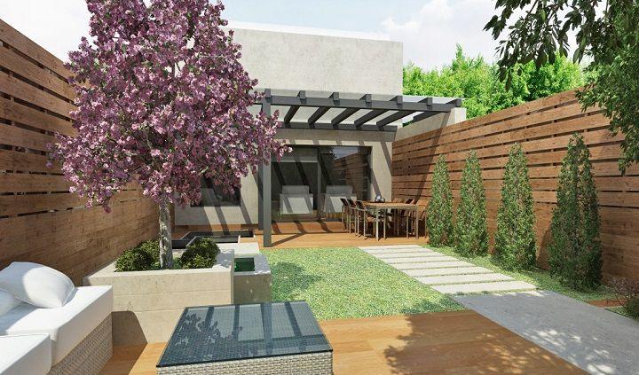 Terraza 720 423 jardines pinterest for Losetas madera terraza