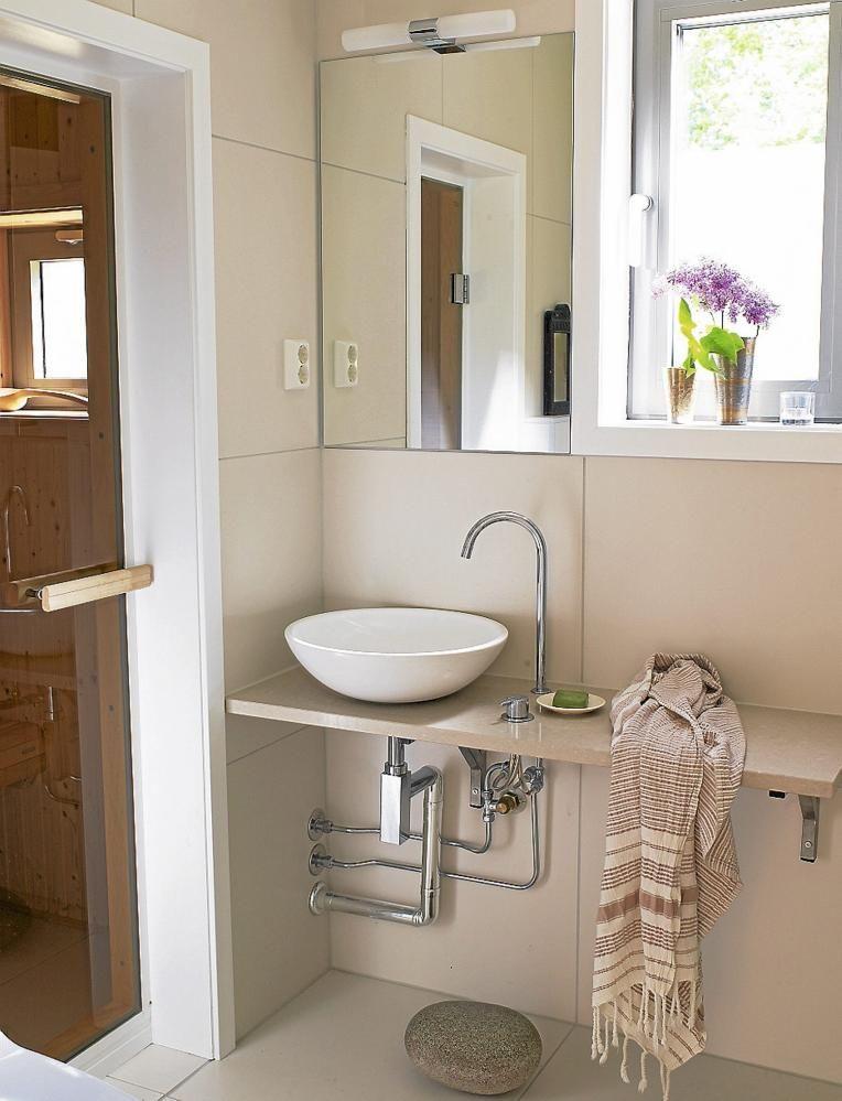 BAD Badet gir spafølelse De store flisene på 60 x 60 cm heter - badezimmer 60 cm