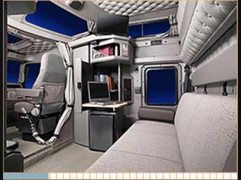 Kenworth W900L Custom Aero I Sleeper - custom semi truck - YouTube