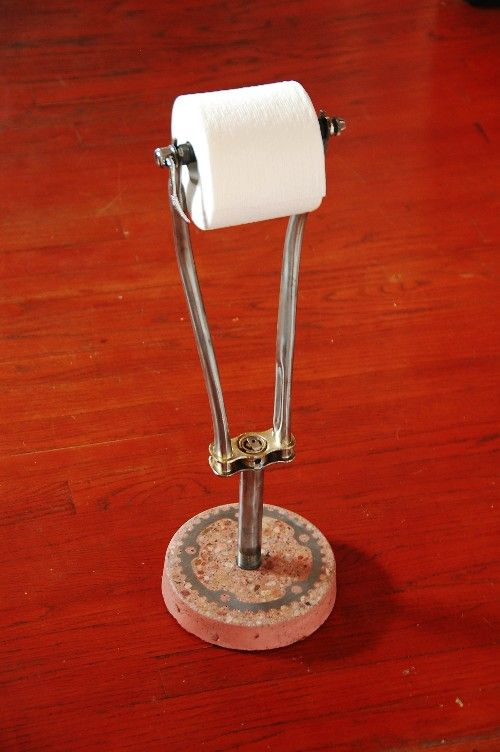 Pin By Wienen Peter On I Will Make One Toilet Paper Holder Toilet Paper Bicycle Diy