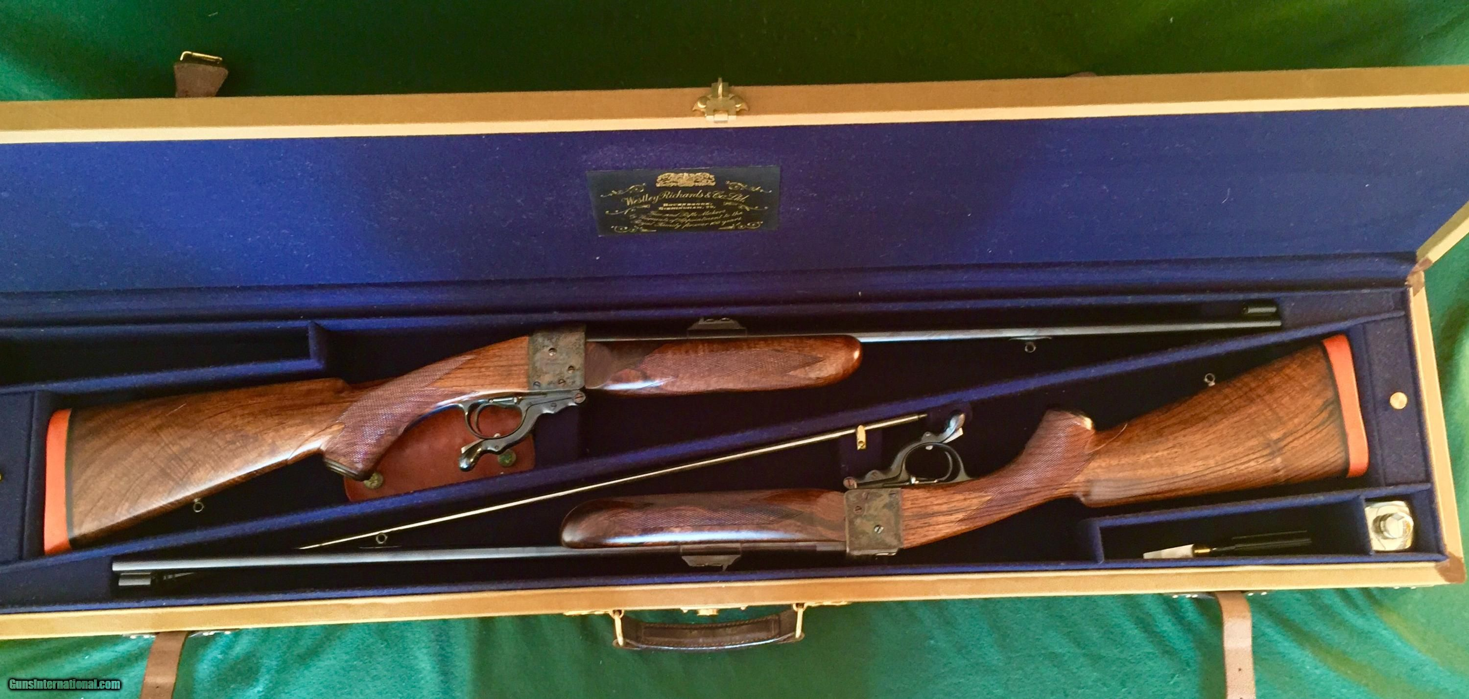 Westley Richards single shot 458 Win