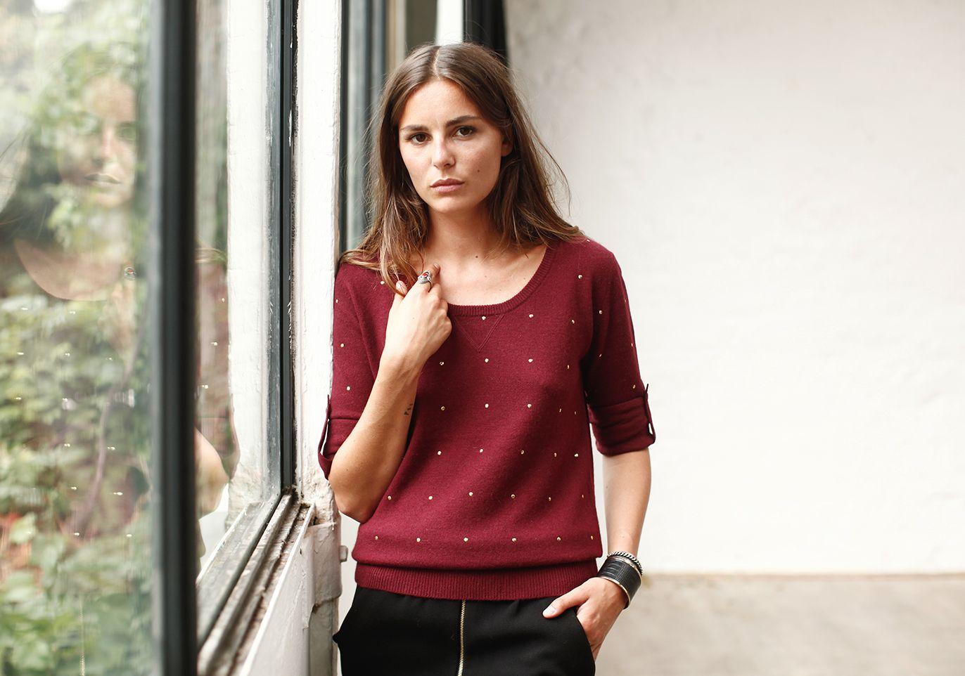 Fall collection 2013 by SÉZANE / SEZANE by Morgane Sezalory http://www.sezane.com  *Roy sweater