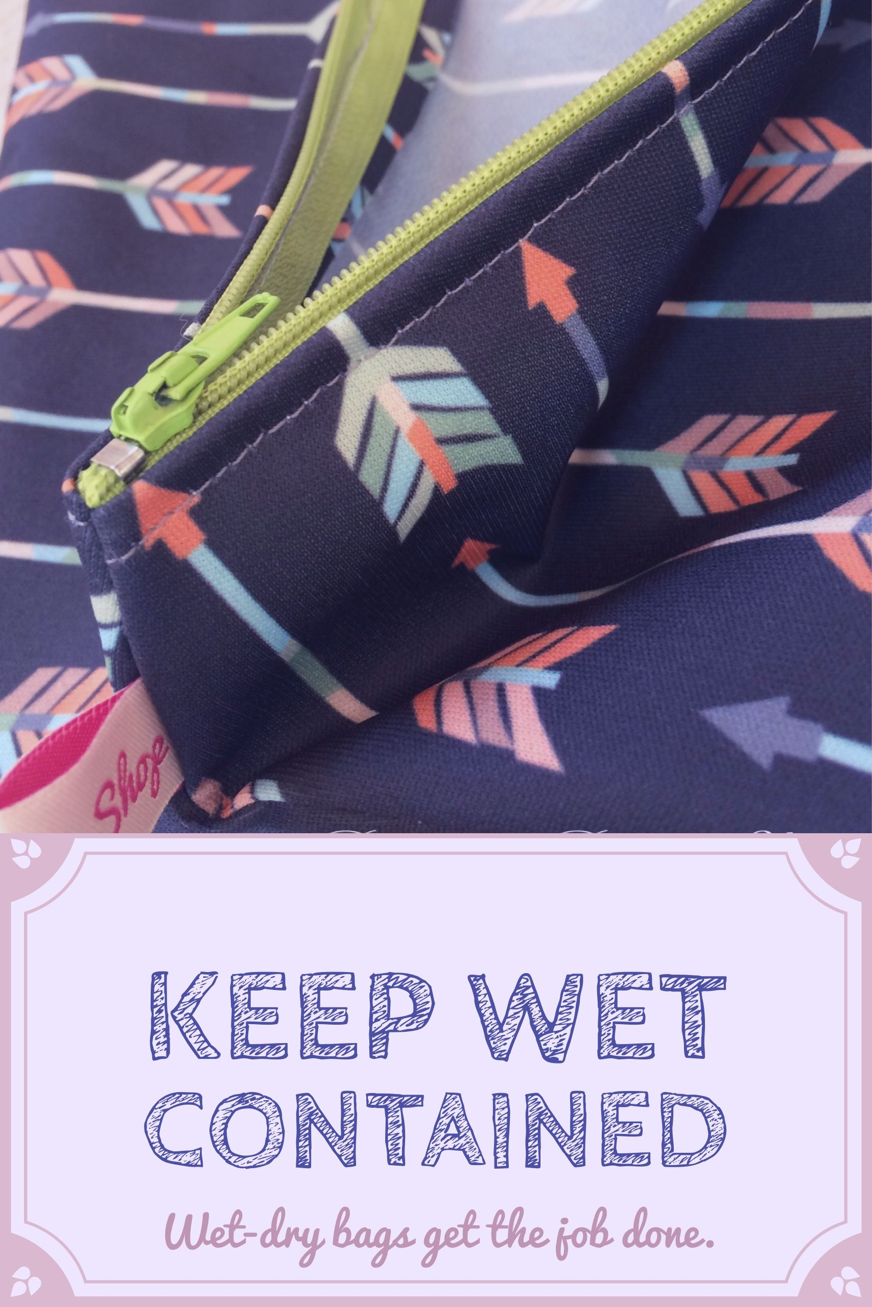 0f52552886c0 Keep wet and soiled things away from your clean things. Wet bags are perfect  for cloth diapers