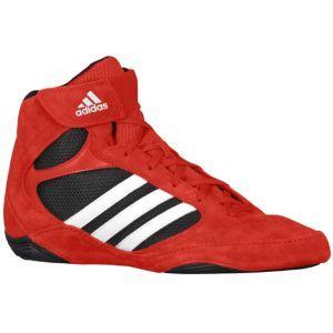 adidas Pretereo II - Men's - Wrestling - Shoes - Red/White/Black